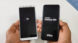 Xiaomi Redmi Note 5 Pro vs Samsung Galaxy S8+ SPEED TEST COMPARISON !!