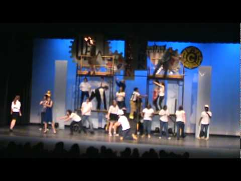 """I Hear America Singing"" from Working: The Musical at Centreville High School, CVHS, Clifton, VA"