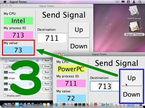 Signals:Running Intel Mac applications on PowerPC Mac [3]