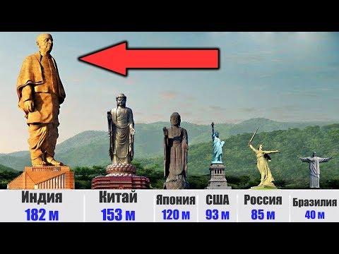 Самые высокие статуи в мире, от которых захватывает дух