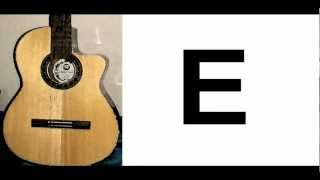 Standard Guitar Tuning - Gitarre stimmen - accurate reference thumbnail