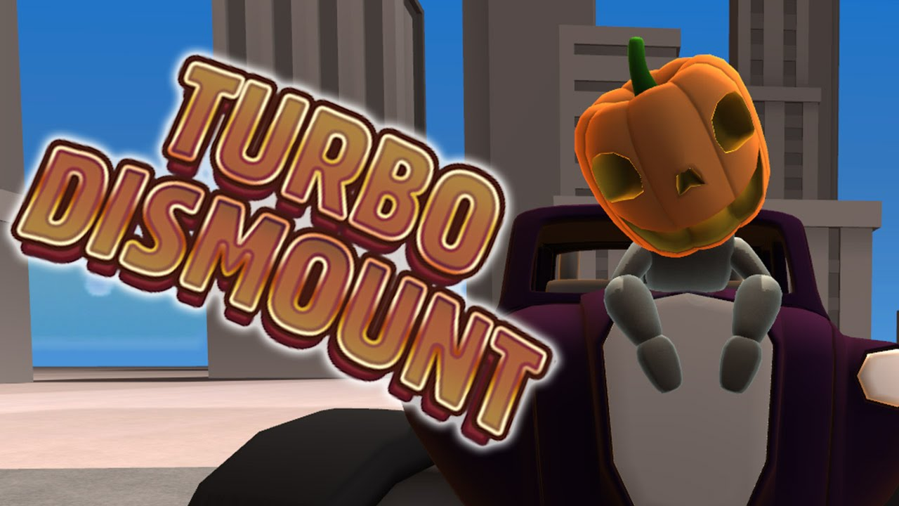PUMPKIN MODE ACTIVATE - Turbo Dismount - Funny Moments ...