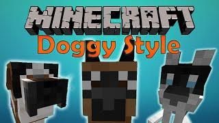 Моды Minecraft №4: Doggy Style | НОВЫЕ ПОРОДЫ СОБАК