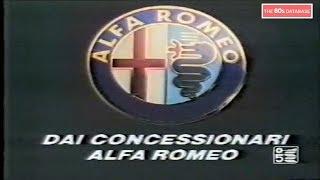 SPOT ALFA ROMEO ARNA 1986 - THE 80s DATABASE