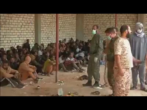 200 migrants, mostly from Ethiopia and Eritrea, detained