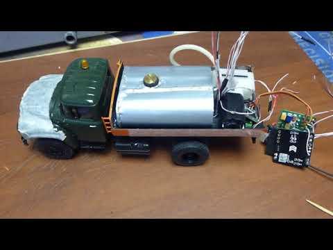 Строим ЗИЛ 130 'поливалка' действующая модель 1:43 ч.  8