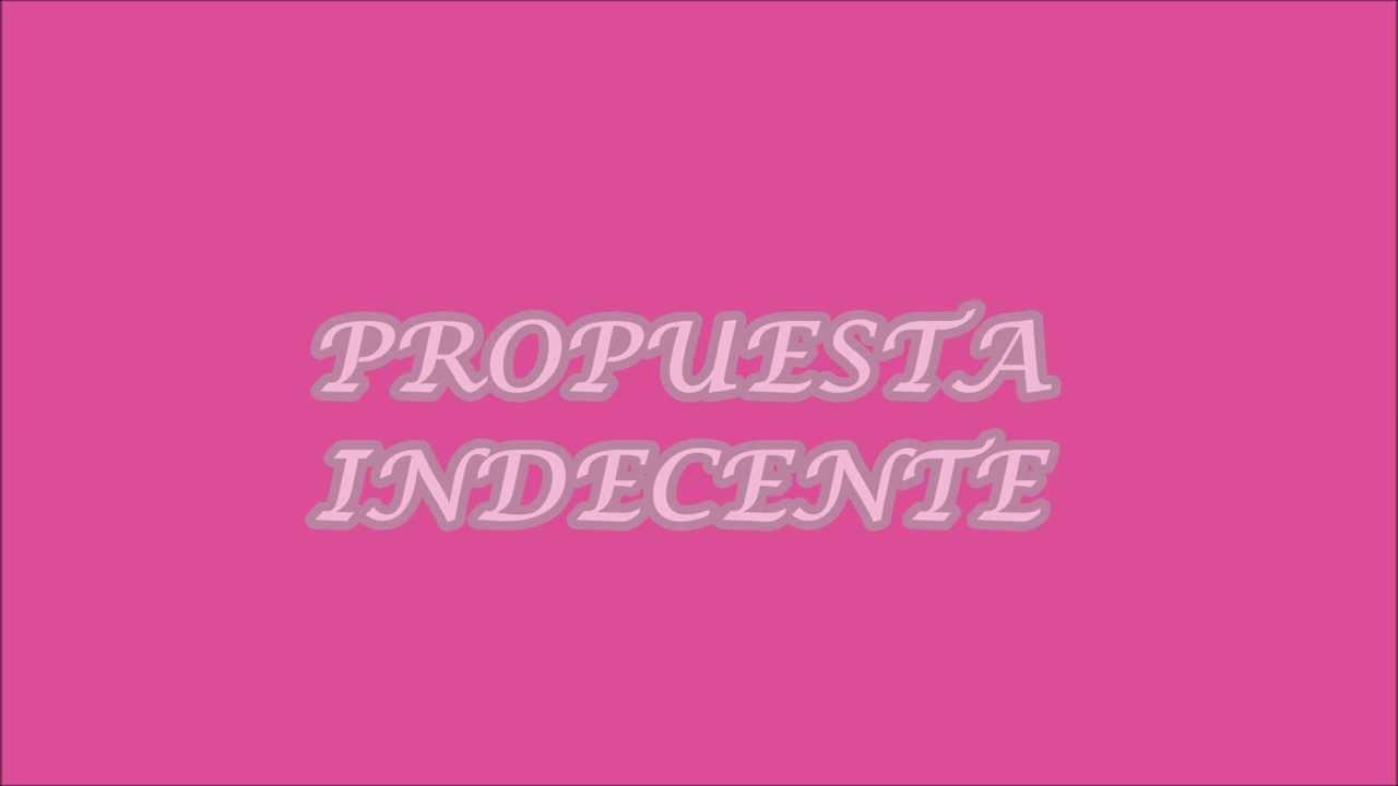 Romeo Santos - Propuesta indecente - YouTube  Romeo Santos Propuesta Indecente Letra