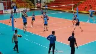 Nazionale Italiana Pallavolo Maschile - Allenamento al Palayamamay
