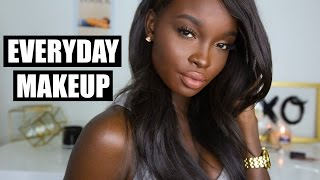 One of Nikki Perkins's most viewed videos: MY UPDATED EVERYDAY MAKEUP ROUTINE | DARK SKIN