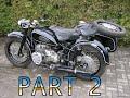 Dnepr K 750. Polishing A Whole Set Of Parts. Part 2