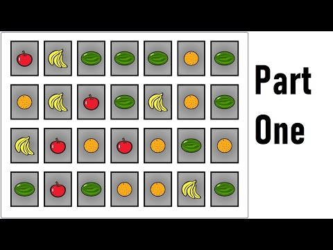Make Memory Game in Scratch - (PART 1: Cards)  