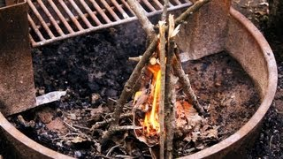 How to Make a Fire | Camping