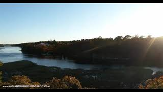 Fall Sunset Cinematic Million Dollar Real Estate Listing w/Water Access