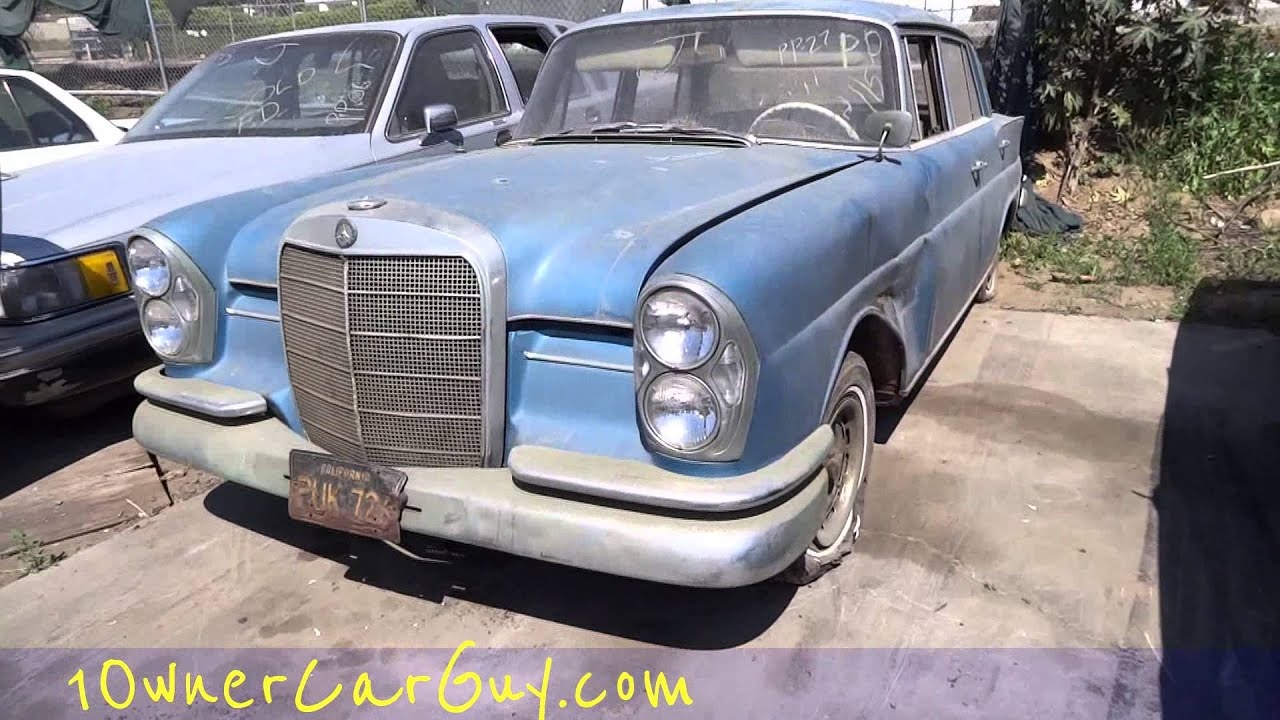Recycle Scrap Cars Junkyard Video Classic Car Pick a Part ...