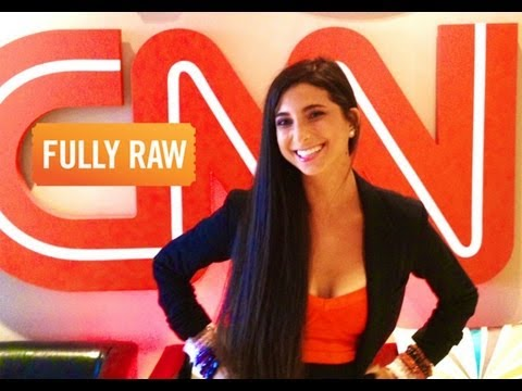 FullyRaw Kristina on CNN Español