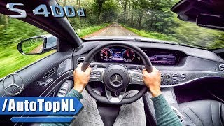 Mercedes Benz S Class 2018 S400d POV Test Drive by AutoTopNL
