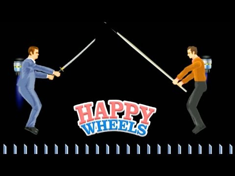 A LUTA da JETPACK!!! - HAPPY WHEELS #58