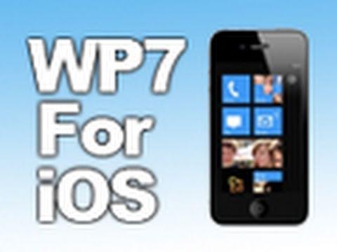 Windows Phone 7 Theme For iOS - OS7