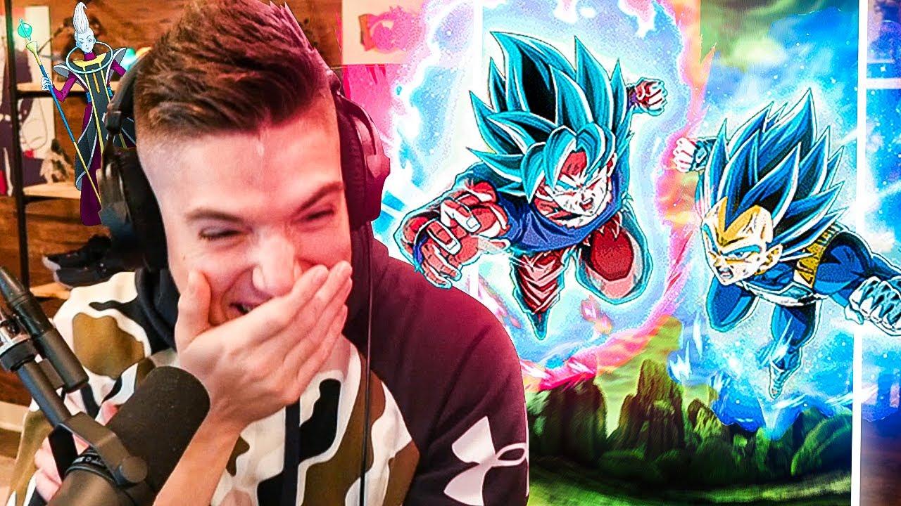 WHIS?! I can't explain these 🔥 LR SSBK Goku & SSBE Vegeta Summons on Dokkan Battle..