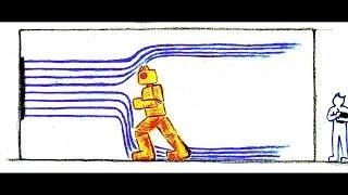 風洞実験(効果音) Wind Tunnel Test Sound Effect
