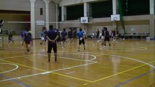 16.09.18 練習試合 山鹿クラブVS玉名T 2セット目