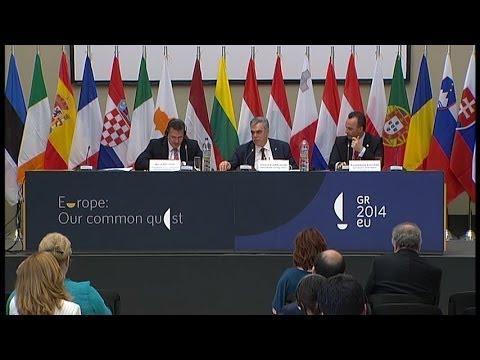 Informal GAC Meeting - Athens, 30.5.2014 - press conference