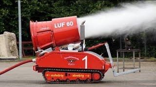 Mesin Robot Pemadam Kebakaran Paling Canggih di Dunia