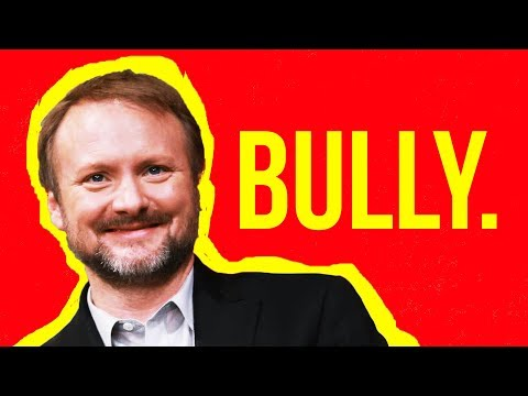 Rian Johnson talks Trilogy and Bullies Star Wars YouTuber Mike Zeroh