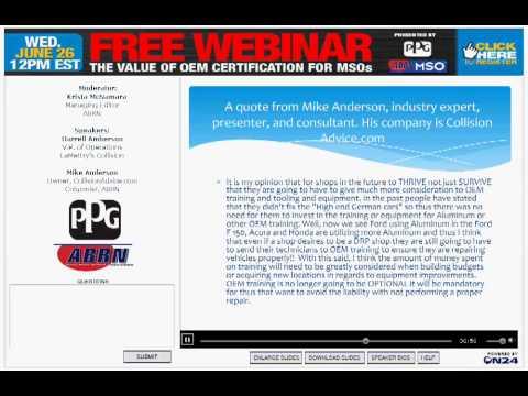 Value of OEM Certification for MSOs