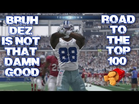 Madden NFL 16 Ranked Opponent #252- Road To Top 100 Dez Bryant is not that Damn Good