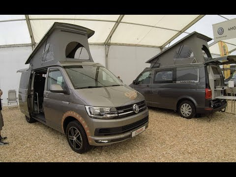 VW T6 OCTO BUS / MULTIVAN WITH GRILL ! NEW MODEL 2017 ! BEIGE COLOUR ! WALKAROUND + INTERIOR !