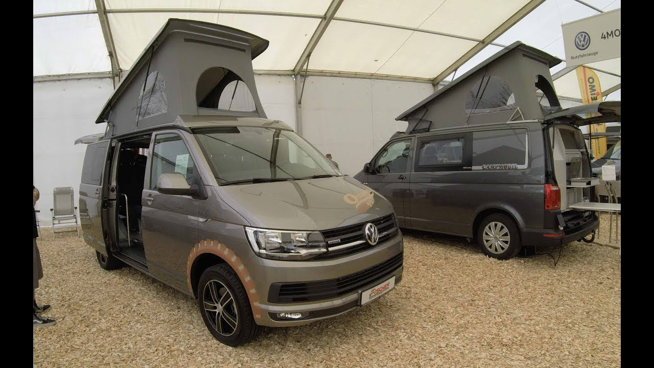Vw T6 Octo Bus Multivan With Grill New Model 2017 Beige Colour Walkaround Interior