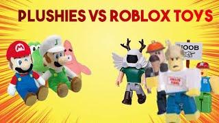 SMR Short: Plushies Vs Roblox Toys