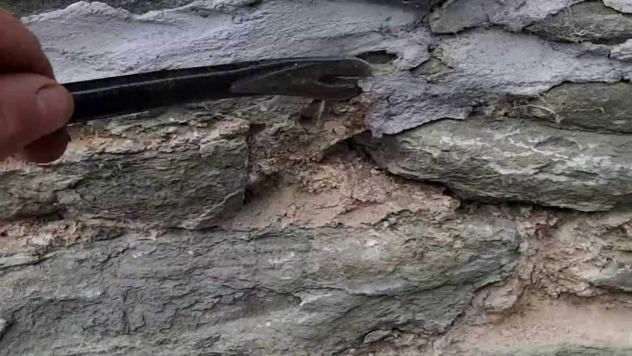 Cement pointing of an old stone wall and the damage it for How to make cement at home