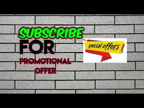 Promotional offers start up