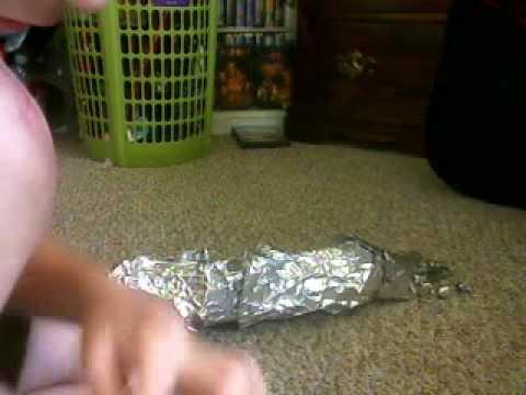 how to make a metal arm