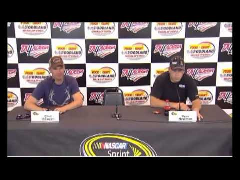 Newman and Bowyer Interview after Qualifying