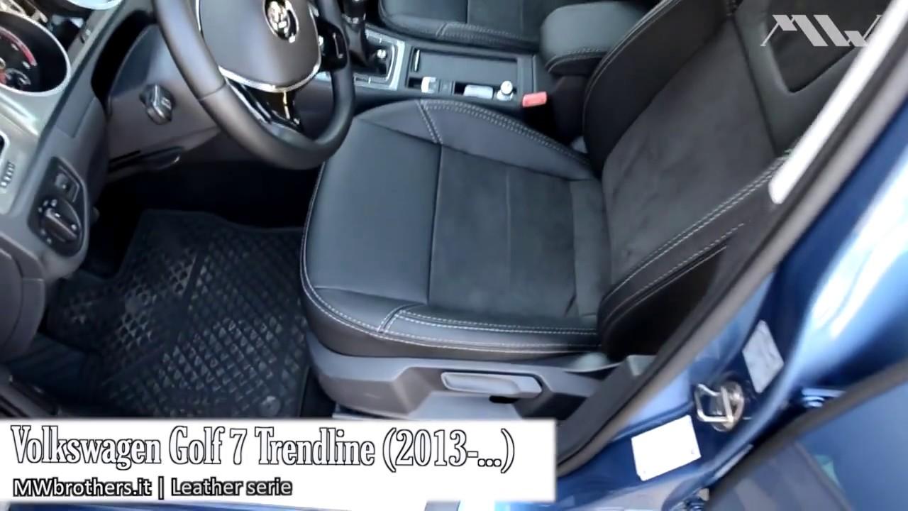 Coprisedili per Volkswagen Golf 7 Trendline (2013-) - YouTube