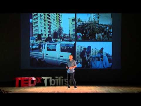 Choreographing a protest | Nick Davitashvili | TEDxTbilisi