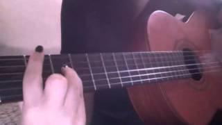 Groupe kelma - warda 3la warda (guitar cover)