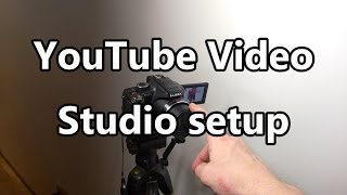 YouTube Video Studio Setup. Equipment details.(Take a look at my video studio and the equipment I use. Cameras, lighting and audio equipment is detailed below. My process is based around a post-edited ..., 2016-02-06T00:43:12.000Z)