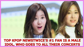 Top Kpop News | TWICE's #1 Fan Is A Male Idol, Who Goes To All Th.eir Concerts