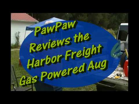 PawPaw Reviews the Harbor Freight Gas Powered Auger mp3