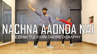 Nachna Aaonda Nahin | Tum Bin 2 | Bollywood Punjabi Dance Choreography | Beginner | Deepak Tulsyan