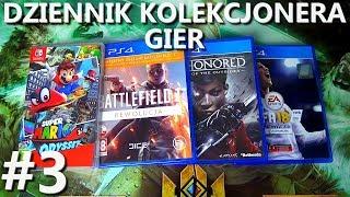 Super Mario Odyssey, Battlefield 1, FIFA 18, Dishonored: DotO | Dziennik Kolekcjonera Gier #3
