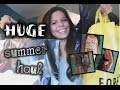 HUGE Summer Try On Clothing Haul Forever 21 American Eagle More mp3