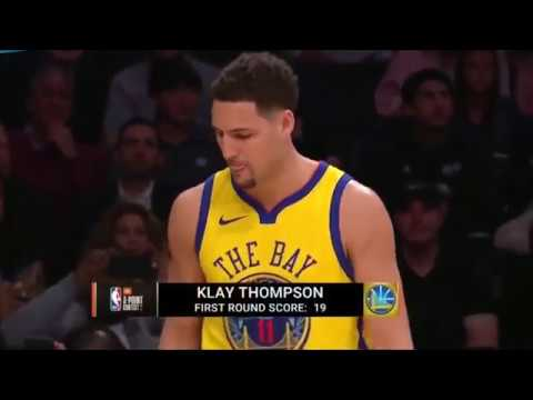 Конкурс трёхочковых бросков НБА Foot (Locker Three-Point Shootout) 2018 All Star Weekend