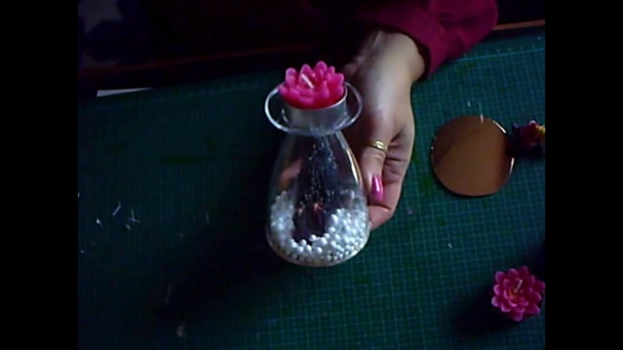 Deco Noel Avec Verres En Plastique Youtube
