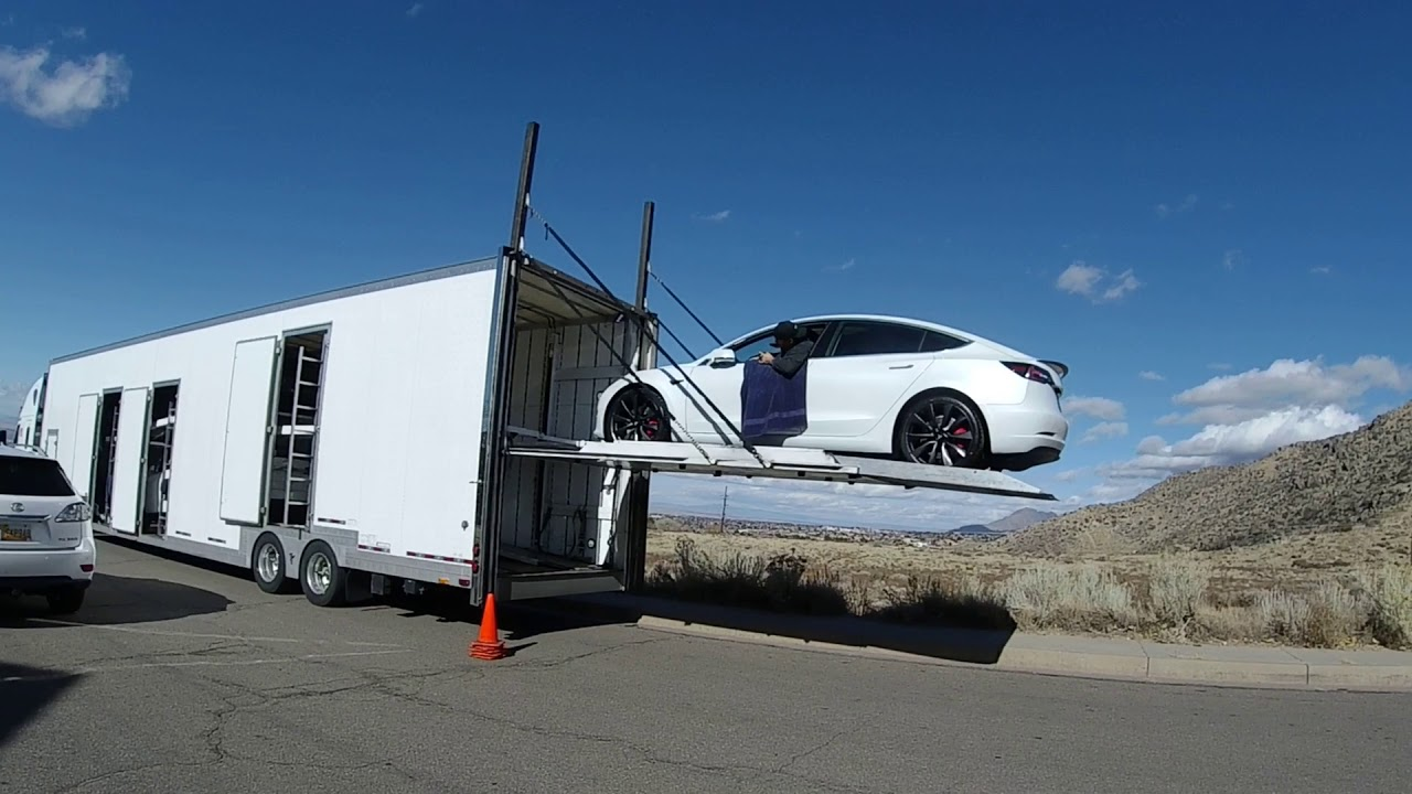 Home Delivery of 2020 Tesla Model 3 Performance - YouTube