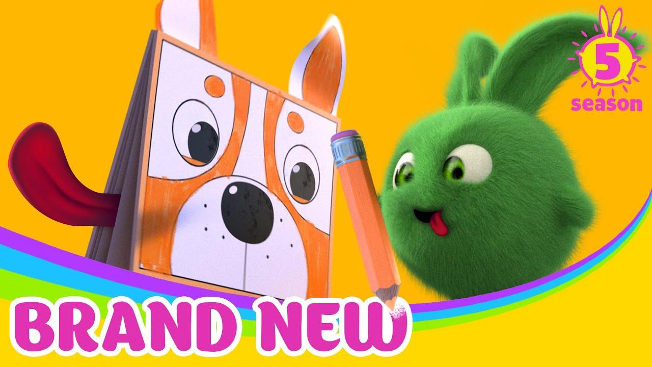 SUNNY BUNNIES - Sunny Bunnies Coloring Book  BRAND NEW EPISODE  Season 12   Cartoons for Children